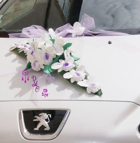 DECORATION DE VOITURE ROMANCE